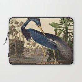 John James Audubon - Louisiana Heron Laptop Sleeve