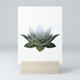 Forest Photography Lotus Mini Art Print