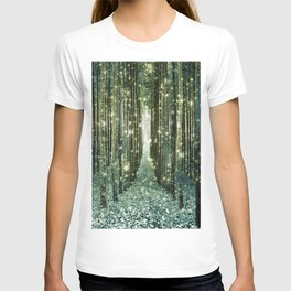 Magical Forest Old Money Green T-shirt