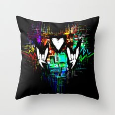 Chiptunes = Win: Original Throw Pillow