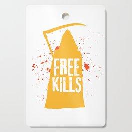 Grim Reaper Free Hugs Kills Grim Reaper Dead Gift Cutting Board