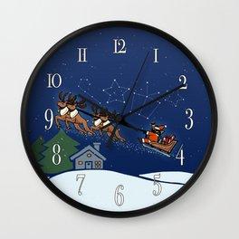 Whim Santa Vol.2 Wall Clock