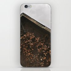 Camouflage - Red Leaves on Barn iPhone & iPod Skin