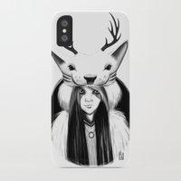 wildlife iPhone & iPod Cases featuring Wildlife by Lilyloca