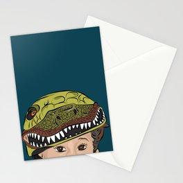 The Dino Helmet Stationery Cards
