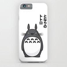 Totoro Pop Art - White Version Slim Case iPhone 6s