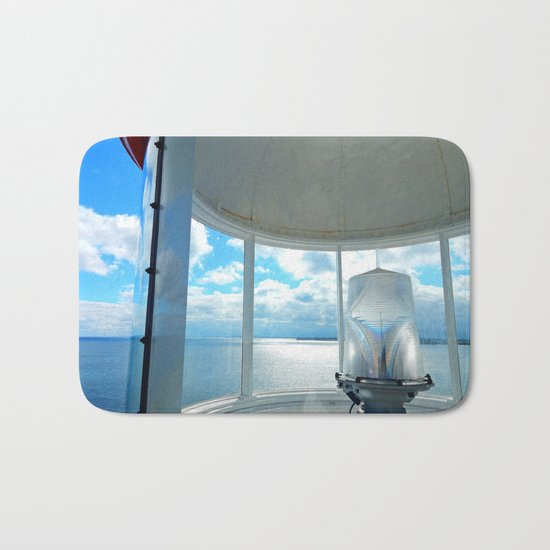 Souris Lighthouse View from the Top Bath Mat