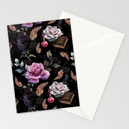 Magic flowers Stationery Cards