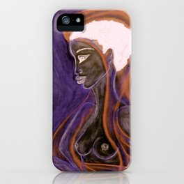 Soul Healer Orange iPhone Case