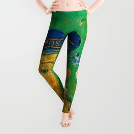 Vincent van Gogh - Portrait of Postman Leggings