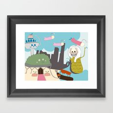 Tales From Singapore Framed Art Print