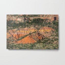 Palo Duro Canyon State Park Landscape Metal Print