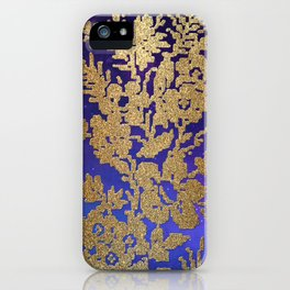 Golde Lace in the Night Sky iPhone Case