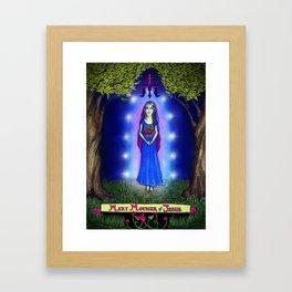 Mary Mother of Jesus Framed Art Print