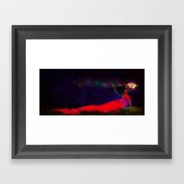 Faith in the Darkness Framed Art Print