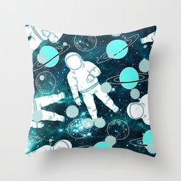 Space Astronaut Throw Pillow