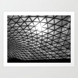 British Museum. Art Print