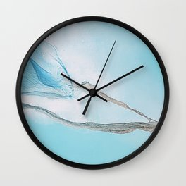 Brilliance in Synchronicity Wall Clock