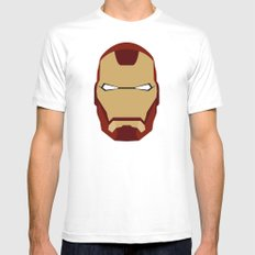 IRONMAN MEDIUM Mens Fitted Tee White