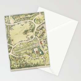 Strolling through history Stationery Cards