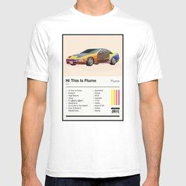Hi This Is Flume Tracklist T-shirt