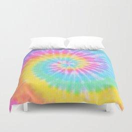 Rainbow Tie Dye Duvet Cover
