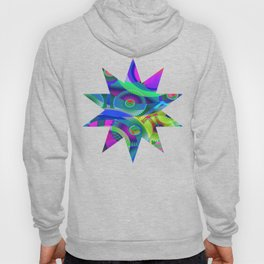 Bright Abstract Hoody