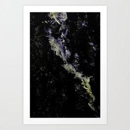 Fleeting Brainwave V Art Print