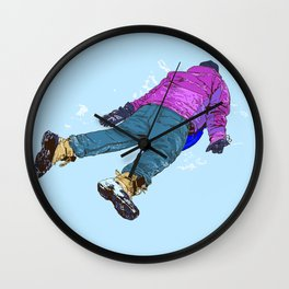 #inktober2016:wreck Wall Clock