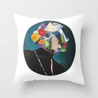 wonderland Throw Pillows featuring Wonderland by Lydia Coventry