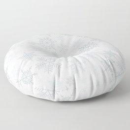 Snowflake pattern Floor Pillow