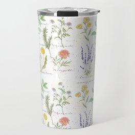 Medicinal Herbs Travel Mug