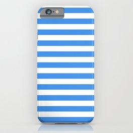 Micronesia San Marino Somalia Nicaragua flag stripes iPhone Case