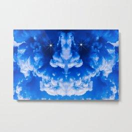 Thunderstorm Demon Metal Print