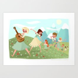 Do Re Mi Art Print