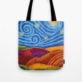 Grounding Hills Tote Bag