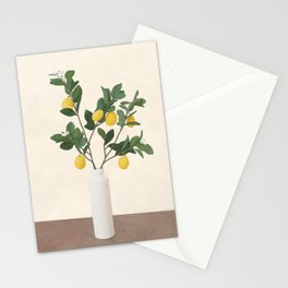 Lemon Branches II Stationery Cards