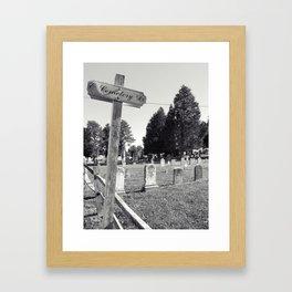 Cemetery#3 Framed Art Print