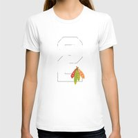 blackhawks T-shirts featuring Duncan Teeth by fohkat