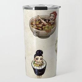 FOOD FAERIES- udon, sushi, and dimsum Travel Mug