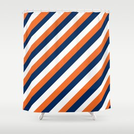 Go Broncos Shower Curtain