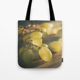 Food. Fruit. Summer grapes Tote Bag