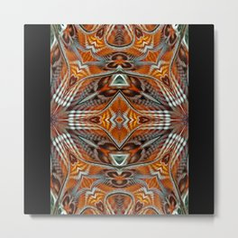 Orrans Abstract Metal Print