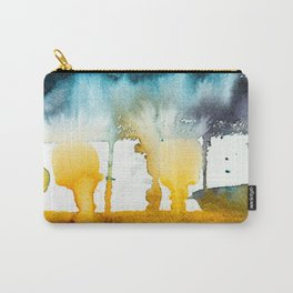 Fall Storm watercolor Carry-All Pouch