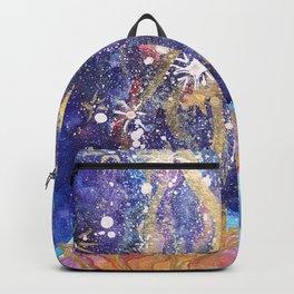 Lotus Flower Galaxy Backpack