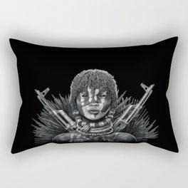 Afro girl Rectangular Pillow