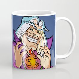 old Wizard casting a spell Coffee Mug