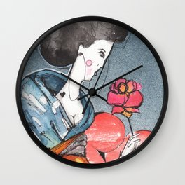 About a Girl Wall Clock