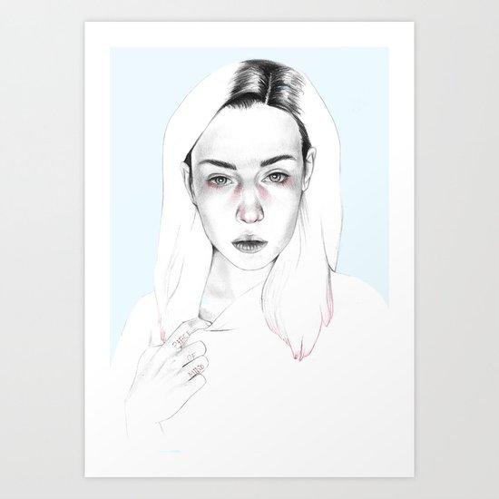 Piece of mind Art Print