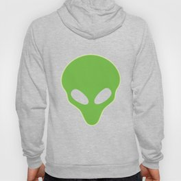 Alien Head Glowing T-Shirt Funny Extraterrestrial Life Tee Hoody